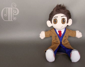 Tenth Doctor Doctor Who Doll Plushie Toy David Tennant
