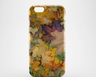 Autumn Leaves Phone case,  iPhone X Case, iPhone 8 case,  iPhone 6s,  iPhone 7 Plus, IPhone SE, Galaxy S8 case, Phone cover, SS118a
