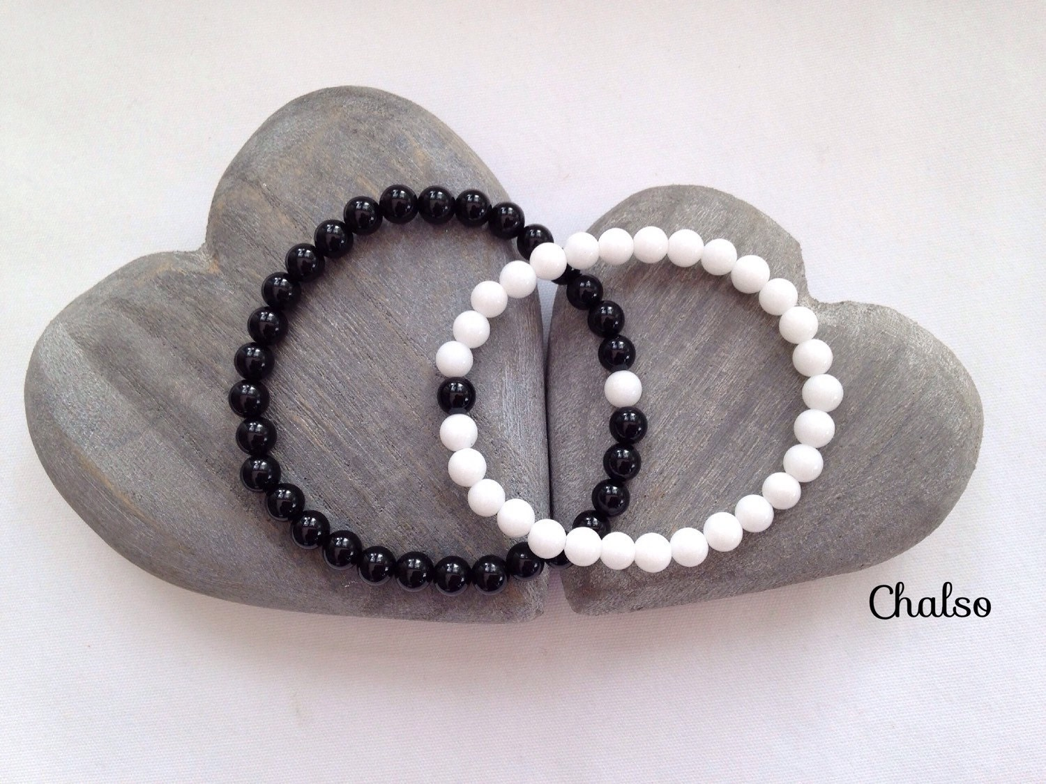 couples bracelet and necklace couples bracelets matching bracelet set with black agate and 4321