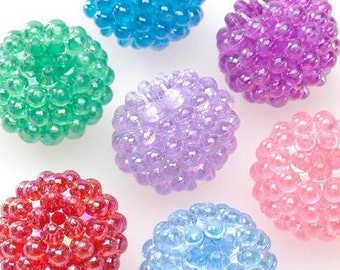 Mixed Colors AB Berry Beads