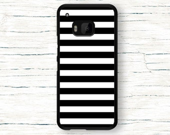 HTC ONE M9 Case - Black Lines