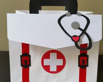 Doctor Favor Bags, Nurse Favor Bags, Paramedic Favor Bags, Medical Favor Bags, Healthcare Favor Bags