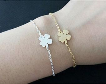 Luck Four Leaf Clover Bracelet