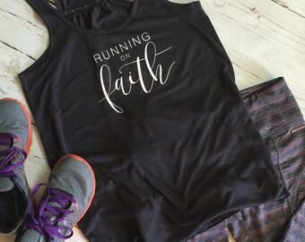 Running On Faith - Christian apparel, Faith clothing