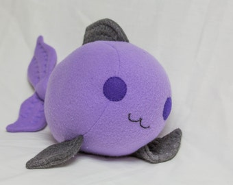Plush Happy Fish- 11 Inches Cute Adorable Plushie Stuffed Animal