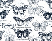 Fauna - Biology - Sarah Watson - Cloud9 Fabrics Fat Quarters 100% organic cotton quilting dressmaking nursery floral UK Shop
