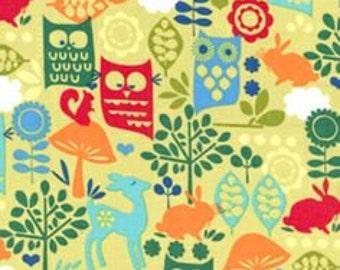 Forest Life fabric by Michael Miller