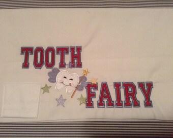 Tooth Fairy Pillowcase for a boy