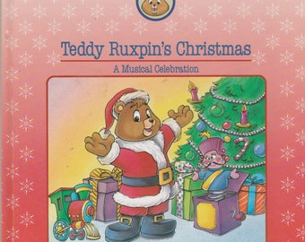 The World of Teddy Ruxpin Christmas Book 1986