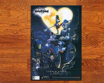 "WW011 Game Poster Kingdom Hearts original HD Posters Prints (20"" * 30"")"