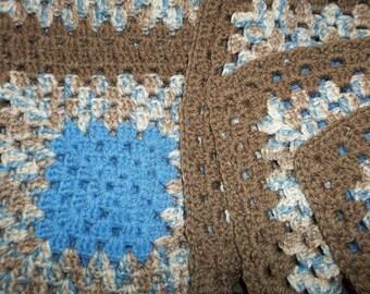 "New, 28""x38"",Handmade crochet baby blanket"