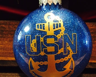 United States Navy Christmas ornament, Navy ornament, Navy Chief ornament, Navy Chief Christmas gift, Navy gift