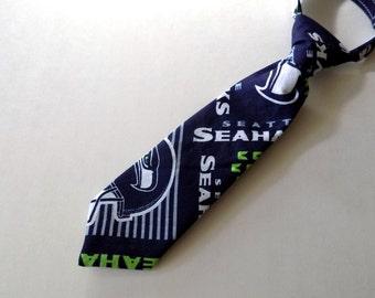 Boys Necktie Seattle Seahawks - Little Boys Tie*
