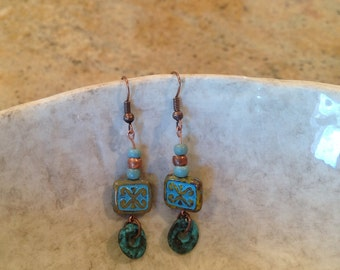 Skies are Blue Earrings EA045