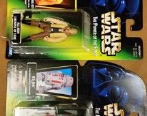 Vintage Star Wars Luke Skywalker and R5 - D4 1996