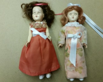 Vintage doll set