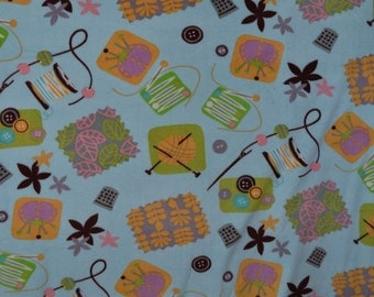 Sewing Room Fleece Blanket
