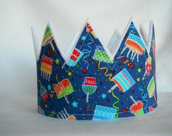 Happy Birthday Crown, Happy Birthday Hat, Birthday Party Crown, Birthday Hat, Birthday Party Crown, Personalized Crown