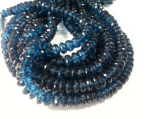 7 mm, London Blue Topaz Beads , 9.0 inches