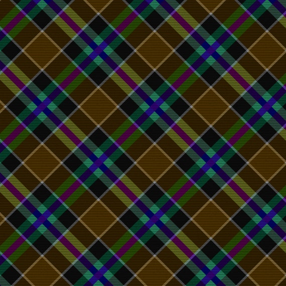 Dark And Light Tartan Plaid Papers Premade Pages Instant Download From DAWSurfaceDesign On