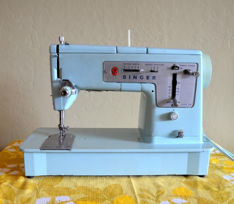 singer sewing machine model 348