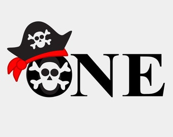 Pirate One Birthday - Bodysuit or T-shirt