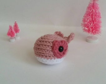 Amigurumi Whale Crochet Toy