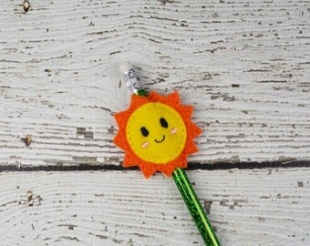 Sunshine Pencil Toppers