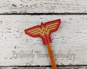 Amazing Woman Pencil Toppers - Classroom Prizes - Party Favor - Party Supplies - Small Gift - Back to School