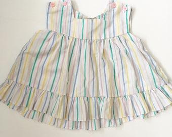 Vintage Pastel Swing Dress