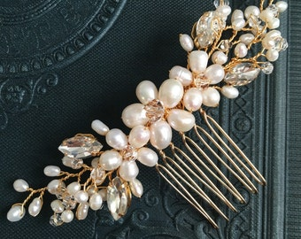 Bridal hair comb, wedding hair comb, bridal accessories, bridal headpiece, bridal hair piece, wedding comb, bridal hair accessories, bridal