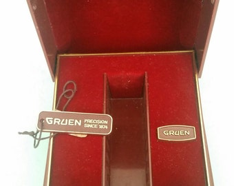 Vintage Gruen Watch Box Only Free Shipping