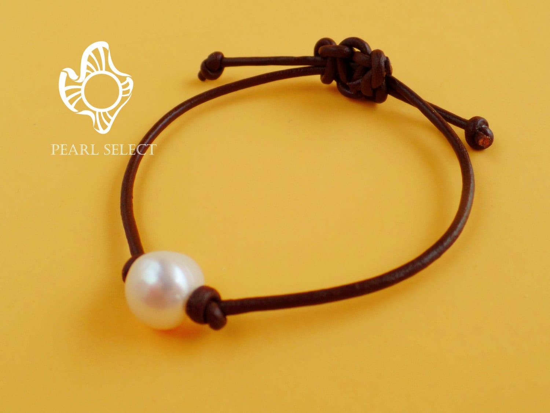 leather pearl braceletpearl leather braceletpearl. Black Bedroom Furniture Sets. Home Design Ideas