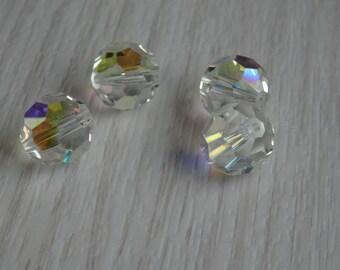 Swarovski vintage ds & co 48 cristaux 12mm Crystal AB