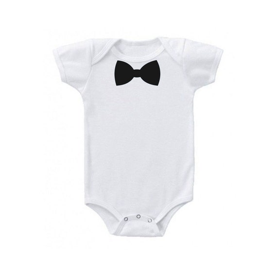Black Bow Tie Onesie, Baby Halloween Costume, Baby Shower Gift, Baby Costume, Toddler Costume, Funny Halloween Costume, Baby Clothes