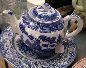 Fine China Tea Pot