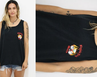 """Fire and Dice """"Misfit"""" Muscle Tank"""