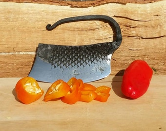 Herb and Vegetable Chopper, Hand Forged