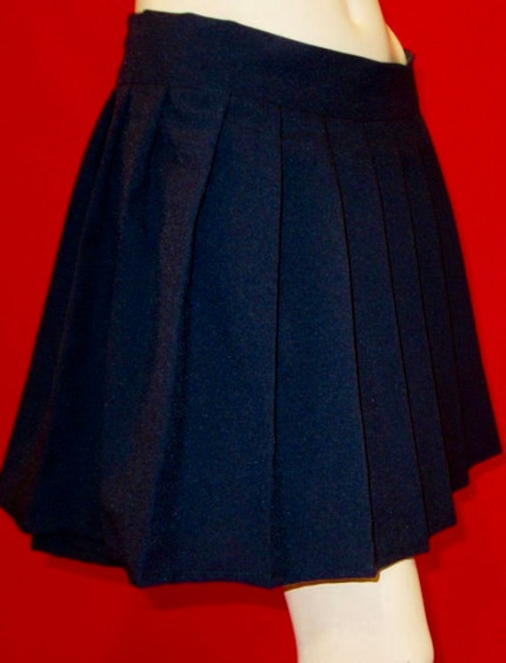 navy blue pleated skirtschool pleated skirtschool