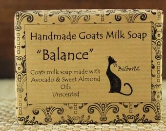 Balance - a Goats Milk Soap with Avocado Oil, No Fragrance or Color