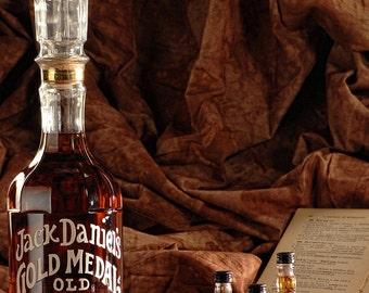 Jack Daniels, Single Barrel, Gentleman, Shots, Book, Antique, 1/2 Gallon, Tennessee, Smiley Face, Latin