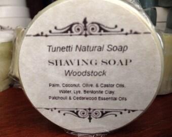All Natural Shaving Soap - Woodstock