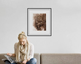 FUMAGE ORIGINAL painting on paper