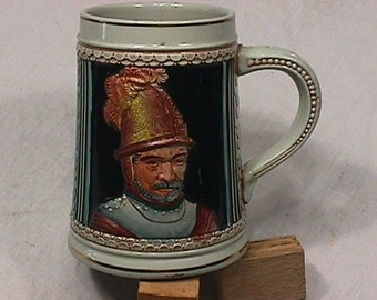 Vintage German ? Made Stein in Great Original Condition I am Sorry I can't make out it's bottom name