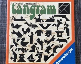 vintage Tangram puzzle - Ravensburger