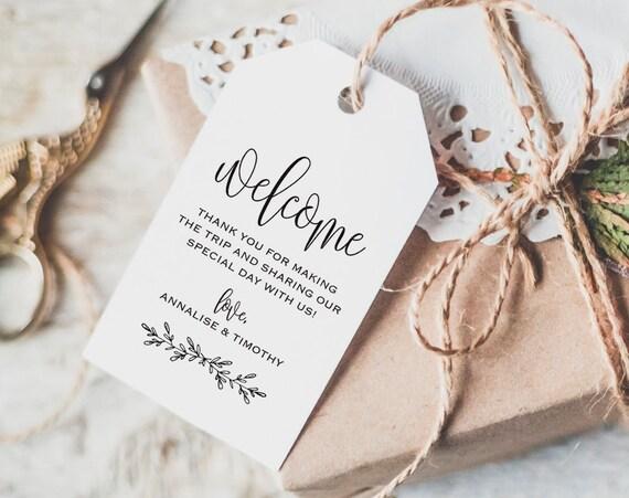 Wedding Favor Bag Tags : Tag, Wedding Welcome Bag Tag, Wedding Welcome Gift Tags, Welcome Tags ...