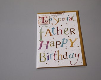 Special Father Birthday Card