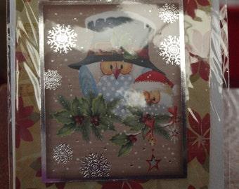 Grandaughter Christmas Card
