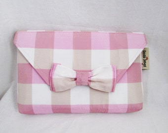 Preppy Plaid Clutch
