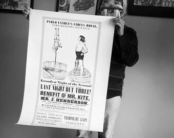 Mr. Kite Poster LARGE SIZE 24x36